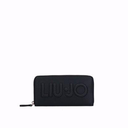 Liu Jo portafogli donna Logo nero, Liu Jo woman wallet Logo black