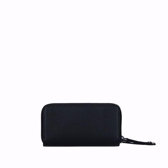 Liu Jo woman wallet with double zip Young black, Liu Jo portafogli donna doppia cerniera Young nero