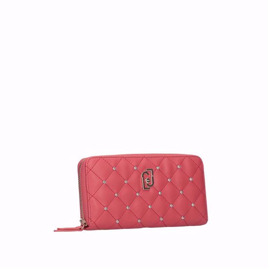 Liu Jo portafogli donna LJ poppy red, Liu Jo woman wallet LJ poppy red