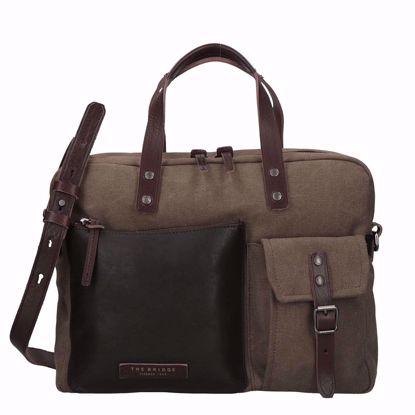 The Bridge cartella porta pc Carver multi, The Bridge briefcase laptop Carver