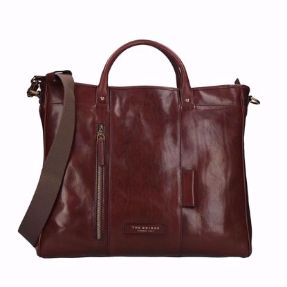 The Bridge cartella porta pc Story trasformabile marrone, The Bridge briefcase laptop Story transformable brown