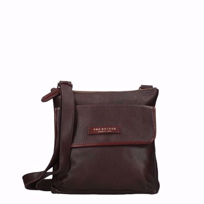 The Bridge borsa a tracolla Story uomo  marrone, The Bridge crossbody bag Story man brown