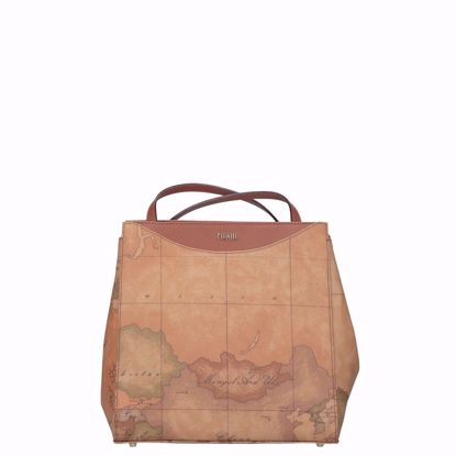 Alviero Martini borsa shopping trasformabile Geo Classic natural, Alviero Martini shopping bag transformable Geo Classic natural