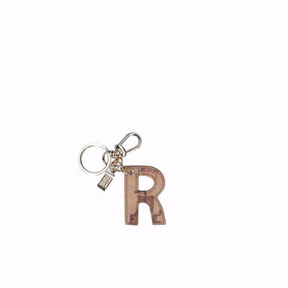 Alviero Martini portachiavi lettera R Geo Classic, Alviero Martini keys holder letter R Geo Classic