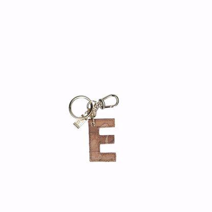 Alviero Martini portachiavi lettera E Geo Classic, Alviero Martini keys holder letter E Geo Classic