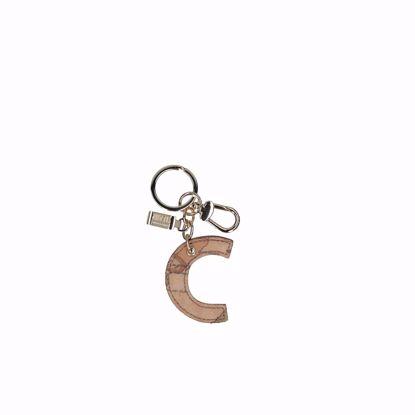 Alviero Martini portachiavi lettera C Geo Classic, Alviero Martini keys holder letter C Geo Classic