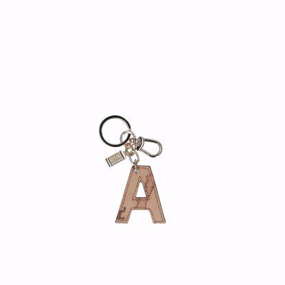 Alviero Martini portachiavi lettera A Geo Classic, Alviero Martini keys holder letter A Geo Classic