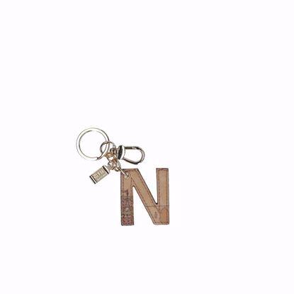 Alviero Martini portachiavi lettera N Geo Classic, Alviero Martini keys holder letter N Geo Classic