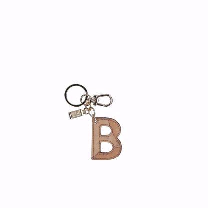 Alviero Martini portachiavi lettera B Geo Classic, Alviero Martini keys holder letter B Geo Classic