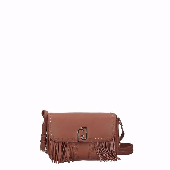 Liu Jo borsa a tracolla M crossbody Cool frange deer, Liu Jo crossbody bag M Cool fringes deer