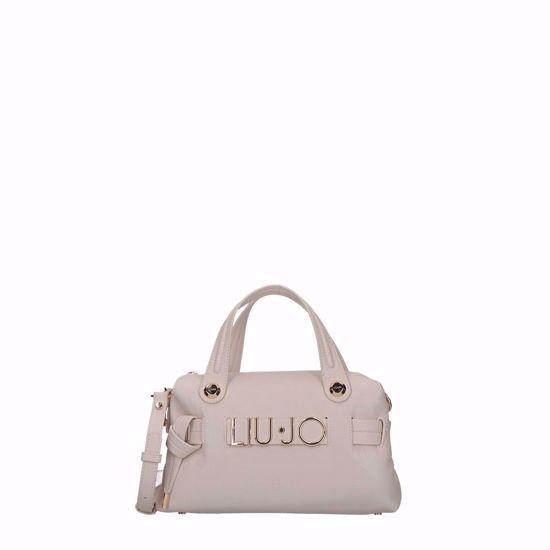 Liu Jo borsa a mano satchel Lett S true champagne, liu Jo bag satchel Lett S true champagne