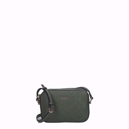 liu Jo borsa a tracolla S crossbody Manhattan dark olive, liu Jo crossbody bag Manhattan S dark olive