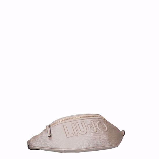 Liu Jo marsupio Logo light gold, Liu Jo pouch bag Logo light gold