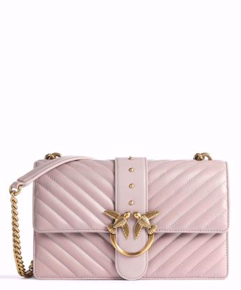 Pinko Love Bag Icon V Quilt - Nude
