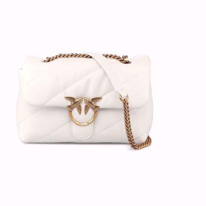 Pinko Love Bag Puff Maxi Quilt Classic - Bianco