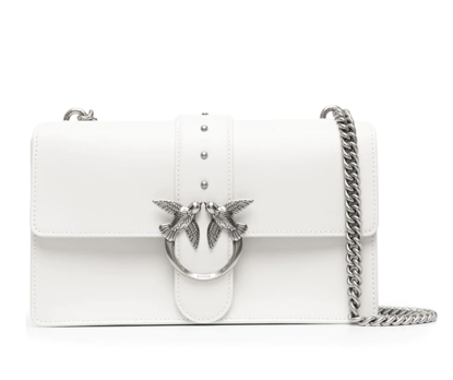 Pinko Love Bag Simply Icon Classic - White silver