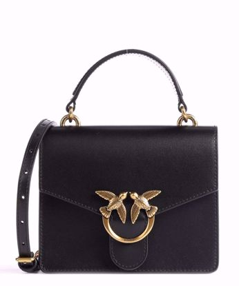 Pinko Mini Love Bag Top Handle Simply - Black