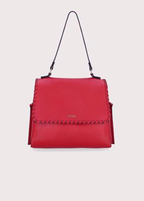 Liu Jo borsa a spalla Estrosa true red, bag Estrosa true red Liu Jo