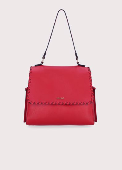 Liu Jo borsa a spalla Estrosa true red, bag Estrosa true red Liu Jo