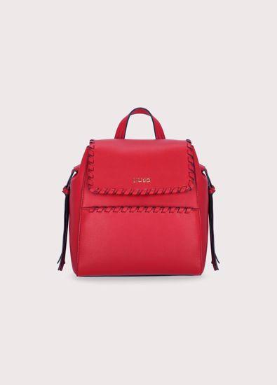 Liu Jo zaino Estrosa true red, backpack Estrosa true red Liu Jo