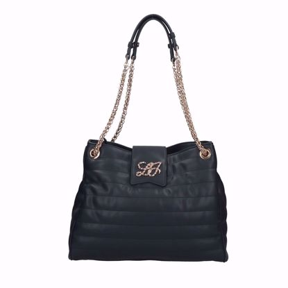 Liu Jo borsa shopping Sapiente midnight, shopping bag Sapiente midnight Liu Jo