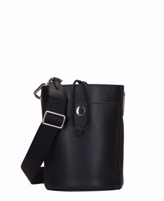 Furla borsa a secchiello Lipari nero, Furla bucket bag Lipari black