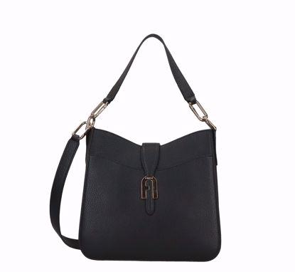 Furla borsa a sacca S Sofia black, Furla bag Sofia black