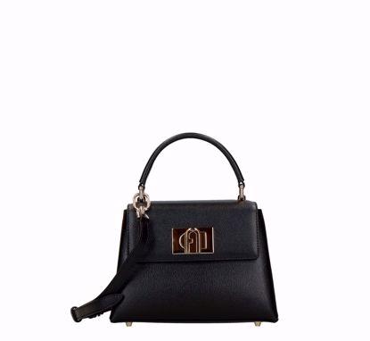 Furla 1927 mini bag black, Furla 1927 borsa a mano mini nero