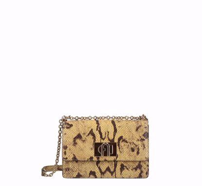 Furla 1927 crossbody bag mini a bandoliera toni mimosa, Furla 1927 mini crossbody bag toni minosa