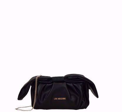 Love Moschino borsa pochette nero, Love Moschino pochette bag black