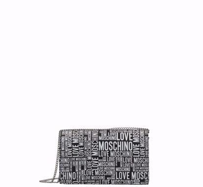 Love Moschino borsa a tracolla Fantasy nero, Love Moschino crossbody bag Fantasy black