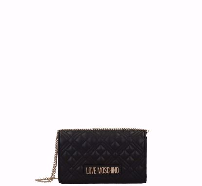 Love Moschino  borsa a tracolla Quilted Nappa S nero, Love Moschino crossbody bag Quilted Nappa black