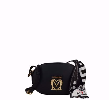 Love Moschino borsa a tracolla Logo nero, Love Moschino crossbodybag Logo black
