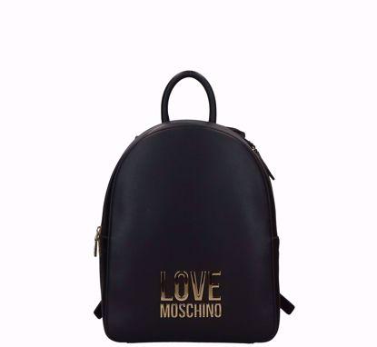 Love Moschino zaino Bonded nero, Love Moschino backpack Bonded Black