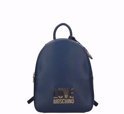 Love Moschino zaino Bonded Navy, Love Moschino backpack Bonded navy