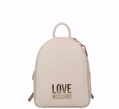 Love Moschino zaino Bonded avorio, Love Moschino backpack Bonded Ivory