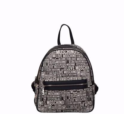 Love Moschino zaino Fantasy nero, Love Moschino backpack Fantasy black