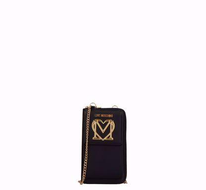 Love Moschino woman wallet Logo black, Love Moschino portafogli donna Logo Nero