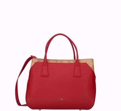 Alviero Martini bag Palace City scarlet red, Alviero Martini borsa a mano Palace City scarlet red