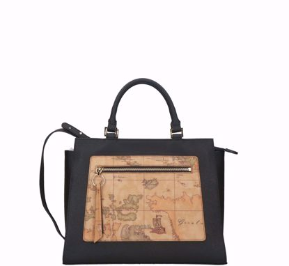 Alviero Martini bag Madame black, Alviero Martini borsa a mano Madame Bag nero