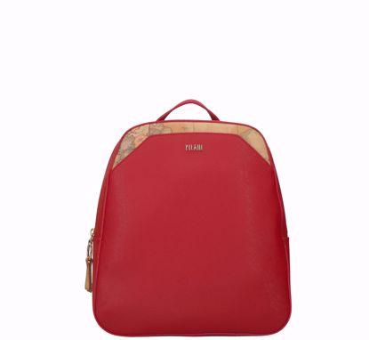Alviero Martini zaino Palace City scarlet red, Alviero Martini backpack Palace City scarlet red