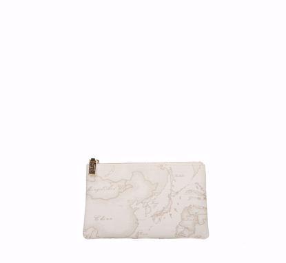 Picture of clutch bag medium 1A Classe Geo classic White