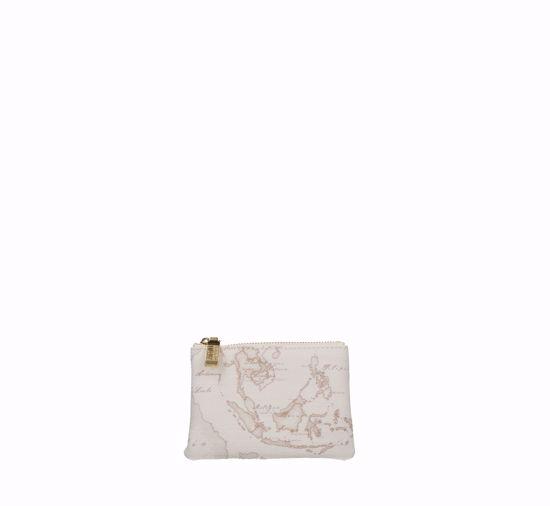 Picture of Clutch bag key holder 1A Classe Geo Classic  Geo White