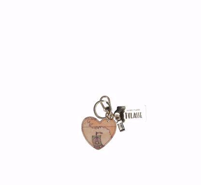 Immagine di portachiavi cuore Geo Classic