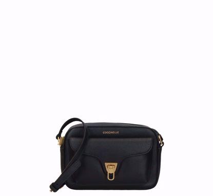Coccinelle borsa a tracolla Beat Soft nero, Coccinelle crossbody bag Beat Soft black
