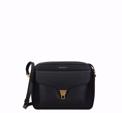 Coccinelle borsa a tracolla large Beat Soft, Coccinelle crossbody bag large Beat Soft black