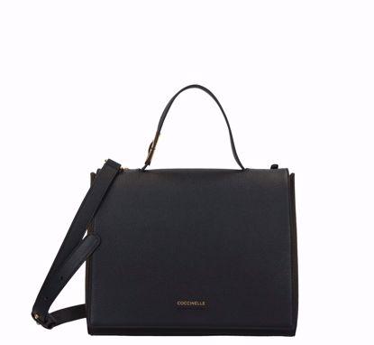 Coccinelle borsa a mano Josephine nero, Coccinelle bag M Josephine black
