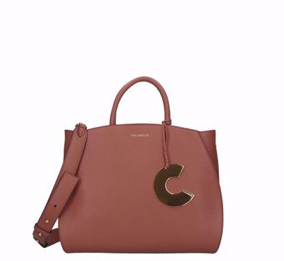 Coccinelle borsa a mano Concrete S cinnamon, Coccinelle bag Concrete S cinnamon