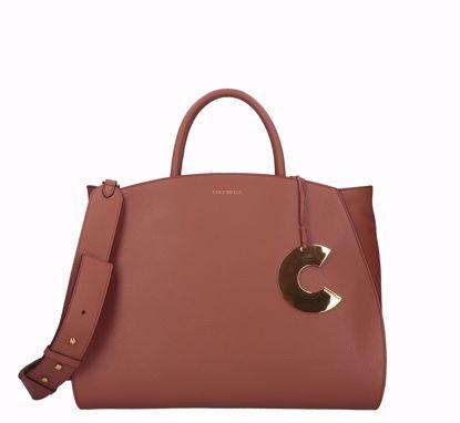 Coccinelle bag Concrete cinnamon, Coccinelle borsa a mano Concrete cinnamon