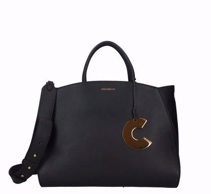 Coccinelle borsa a mano Concrete S nero, Coccinelle bag Concrete black